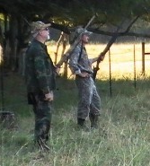 Hunters with Rifles, Alligator Hunting in Lake Charles, LA